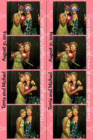 Terria & Michael Photo Booth